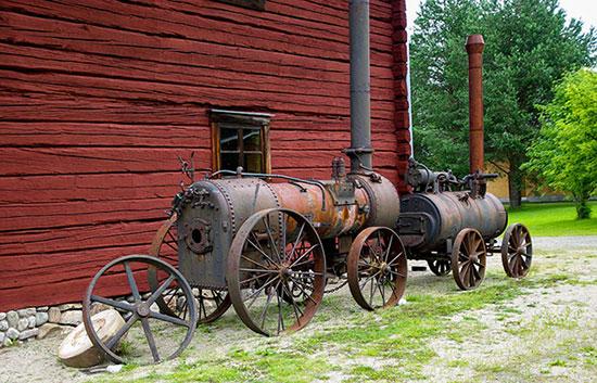 Fig. 9 : Machines à vapeur – Source: Jacqueline Macou, Pixabay