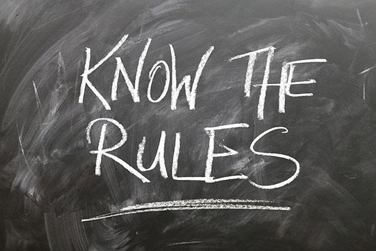 Fig. 6 : Respecter la réglementation – Source : Gerd Altmann, Pixabay