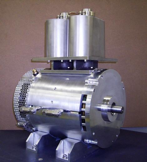Fig. 5 : Moteur supraconducteur Sumitomo - Source : Leblogauto.com