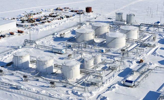 Fig. 8 : Terminal Novatek de GNL au Yamal – Source : leblogfinance.com