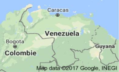 Fig. 1 : Carte de Venezuela