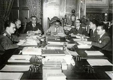 Fig. 2 : Junta Revolucionaria de Gobierno - Fuente : Wikimedia Commons