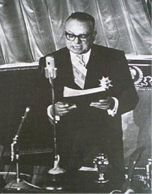 Fig. 3 : Romulo Betancourt (1908-1981), presidente de Venezuela (1959-1964) - Fuente : Wikimedia Commons