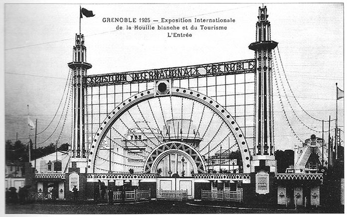Fig. 5 : Exposition Internationale de la Houille Blanche, 1925 – Source : Wikimedia Commons