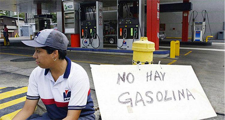 Fig. 5 : Venezuela où le prix dérisoire des carburants débouche sur des pénuries - Source : À l'encontre, 18 décembre 2017, https://alencontre.org/ameriques/amelat/venezuela/venezuela-lindustrie-petroliere-dans-le-gouffre.html