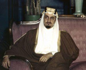 Fig. 6 : Le roi Faycal d'Arabie Saoudite en 1972. Source : L'Orient-Le-Jour