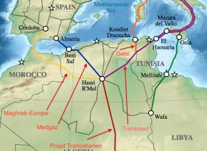 Fig. 3 : Le gaz naturel, vecteur de coopération avec l'Europe. Source : algeriepart.com