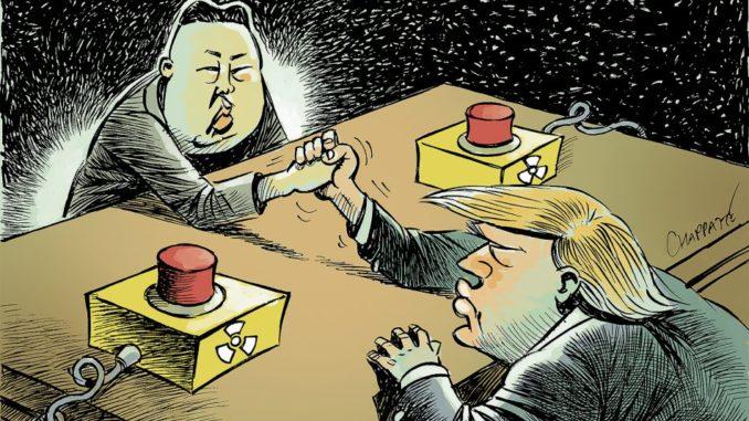 Fig. 4. La Corée du Nord et le nucléaire. Source : La Revue