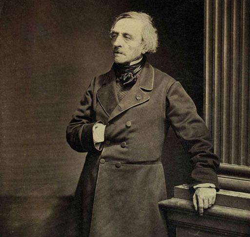 Fig. 5 : André-Marie Ampère - Source : Antoine Samuel Adam-Salomon [Public domain], via Wikimedia Commons