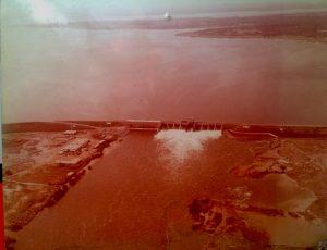 Fig. 3 : Photo aérienne du barrage