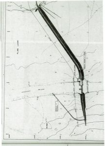 Fig. 4 : Vue succincte en plan du barrage