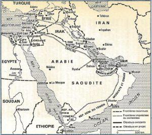 Fig. 2 : Le Moyen-Orient en 1970