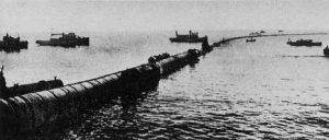 Fig. 2 : La CEF longue de 2 km avant son installation dans la Baie de Matanzas (Cuba)