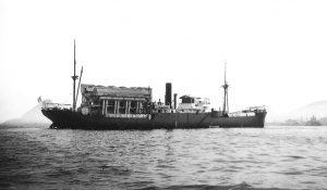 Fig. 3 : L'usine ETM flottante Tunisie au large de Rio de Janeiro (Brésil)