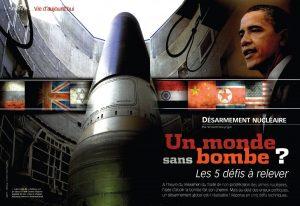 Non-prolifération des armes nucléaires ?