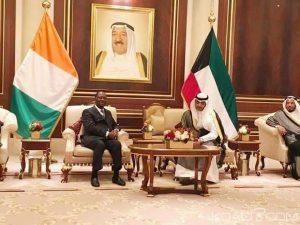 Fig. 4 : Le Koweït investira-t-il en Côte d'Ivoire ? Source : www.koaci.com