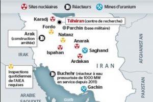 Fig. 8. L'Iran désormais au coeur des préoccupations. Source : 24heures.ch