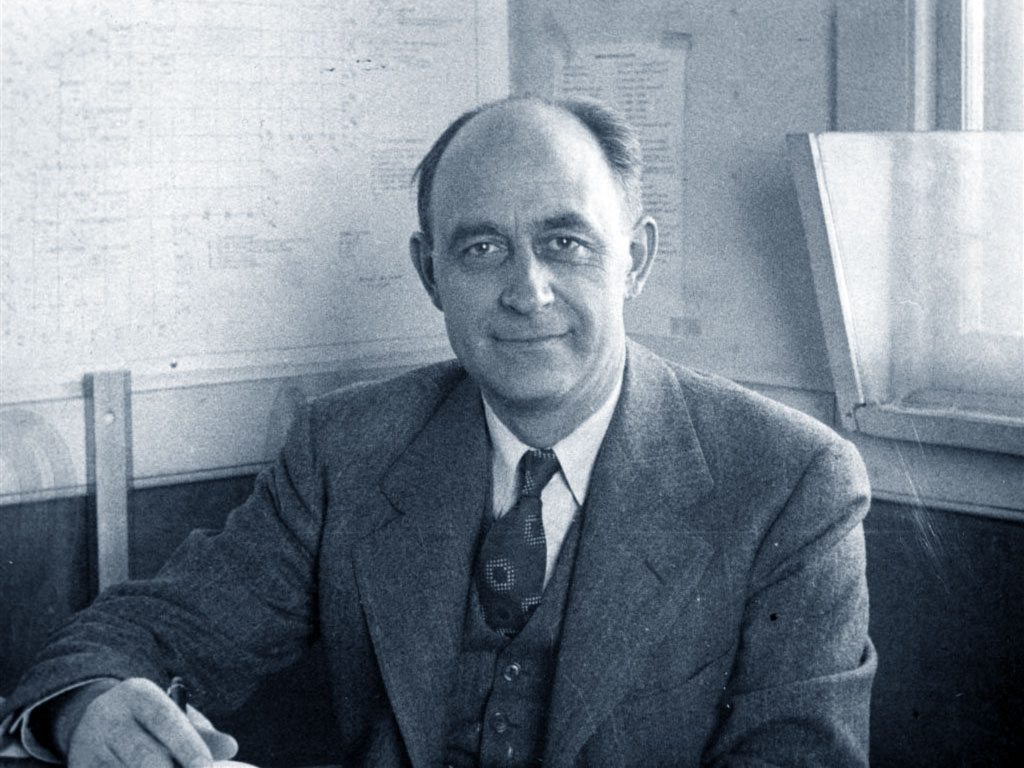 Fig. 3 : Enrico Fermi (1901-1954). Source : Biografieonline