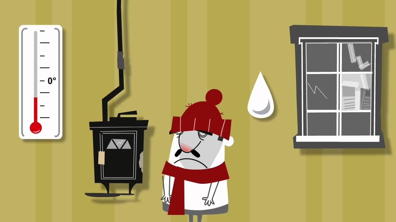 Fig.5 : Précarité énergétique. Source : YouTube