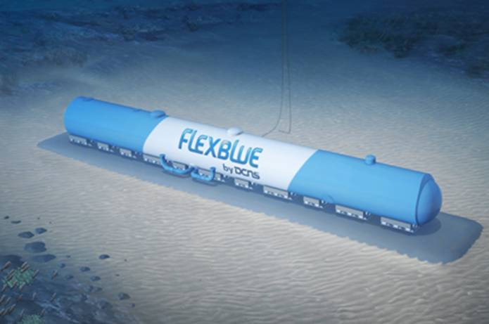 Fig. 13 : DCNS Centrale immergée Flexblue