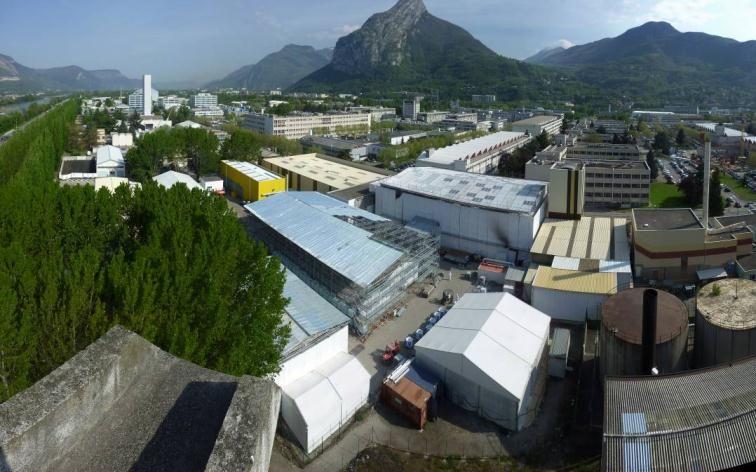 Le démantèlement des installations nucléaires du CEA