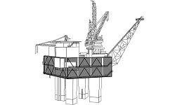 Fig. 1 : Uma plataforma de exploração de petróleo
