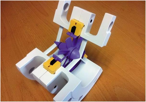 Fig. 3 : La pico-turbine de Save Innovations en version écorchée de présentation