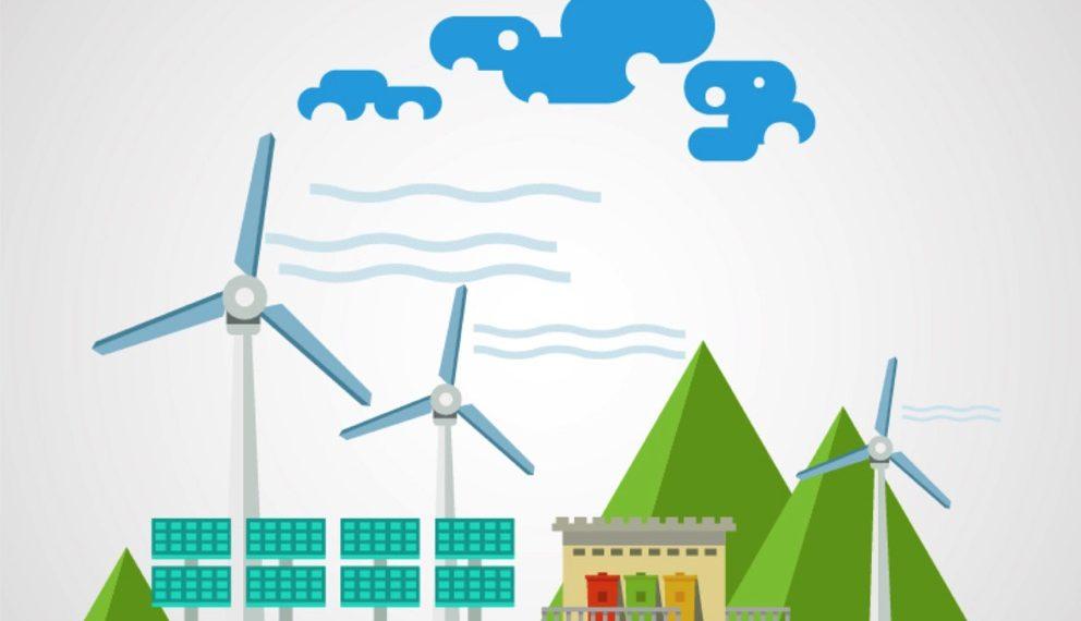 Eigenschaften einer Stromversorgung mit intermittierenden Quellen