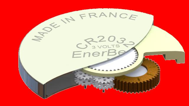 Fig. 2: Le micro-générateur inertiel développé par Enerbee