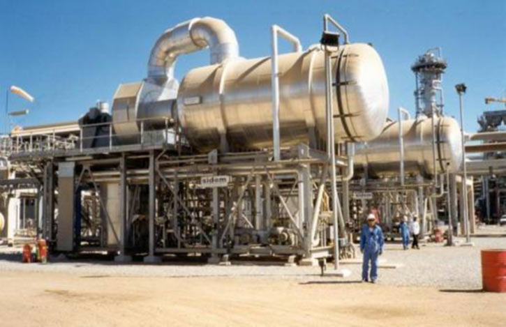 Fig. 16 : Usine de dessalement Al Ghalilah (Oman) 2 x 500 m3/j MVC - source : Veolia - Sidem