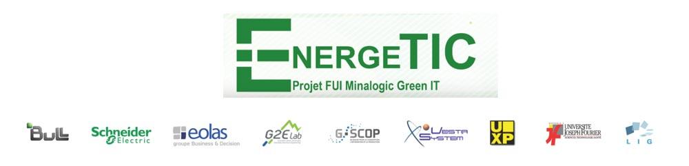 Fig. 11 : Partenaires impliqués dans le projet EnergéTIC