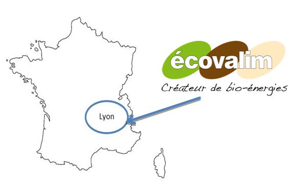 Fig. 1 : Implantation de la société ECOVALIM