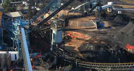 Fig. 6: Siège de la mine Morupule