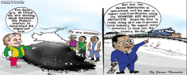 Fig. 8: Une dénonciation humoristique de la concurrence mozambicaine – source : Rachel Etter-Phoya in Business Environment, 27 February 2017.