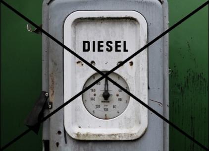 Fig 6 : Stop Diesel