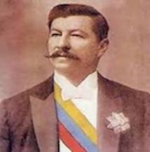 Fig. 1 : Le président Juan Vicente Gomez - Source : Wikipedia.