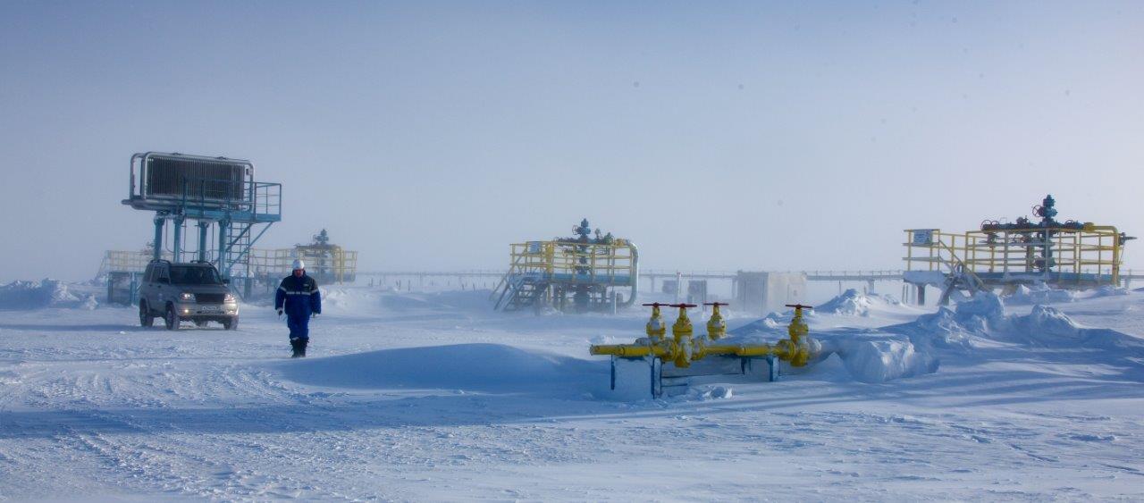 Image 4: Bovanenko in the spring, Yamal peninsula - Source : Gazprom