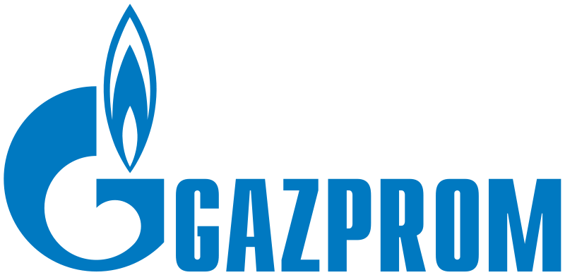 Image 9: Gazprom logo – Source : Wikimedia Commons