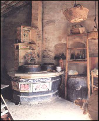 Fig. 4 : Cuisine dans la province du Jiangsi.