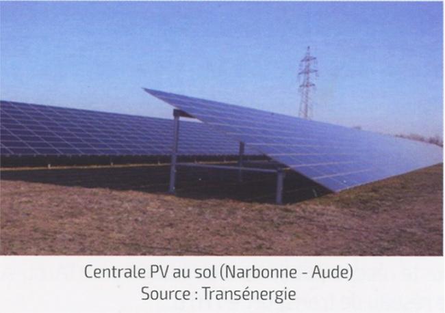 Fig. 6 : Exemples de centrales PV (a)