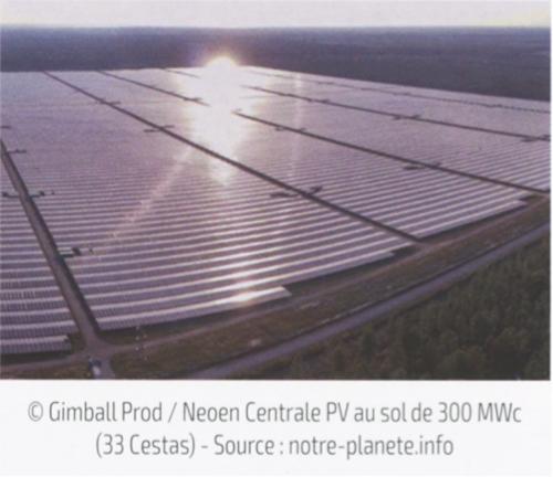 Fig. 6 : Exemples de centrales PV (b)