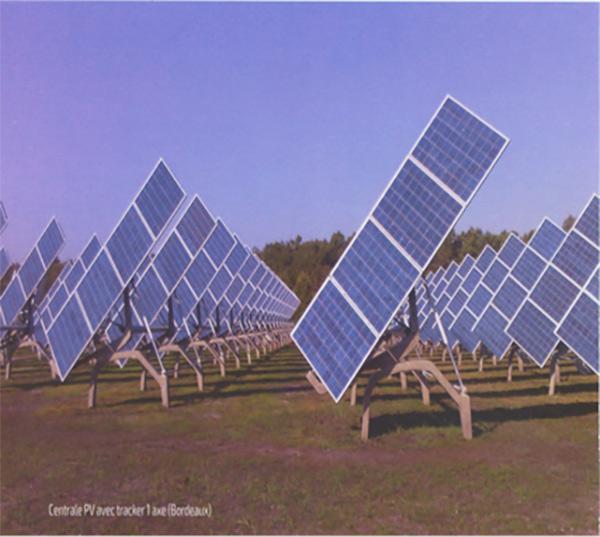 Fig. 6 : Exemples de centrales PV (c)