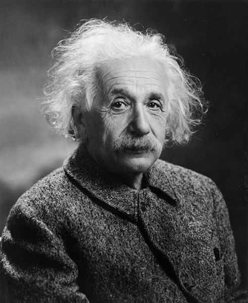Fig. 4 : Albert Einstein 1879-1955 – Source : The Library of Congress, via Wikimedia Commons