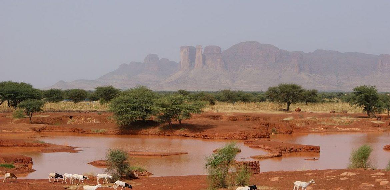 Mali : l'aménagement hydroélectrique de Sélingué. Source : Wikipédia