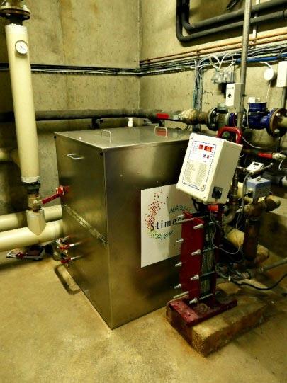 Récupération de chaleur des datacenters