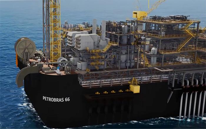 Image 3 : the first definitive production system for the Santos Basin pre-salt to enter production was the Piloto de Lula in October 2010 (FPSO Cidade de Angra dos Reis). - Source: Petrobras (http://www.petrobras.com.br/pt/nossas-atividades/areas-de-atuacao/exploracao-e-producao-de-petroleo-e-gas/pre-sal/)