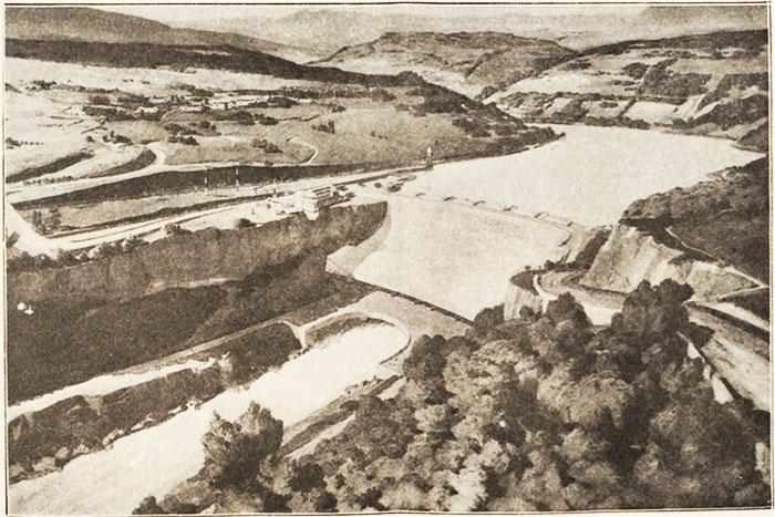 Fig. 10 : Projet architectural de M. Laprade – Source: Le Génie Civil n° 2996 du 12 janvier 1940