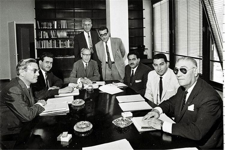 Fig. 1: La Conférence de 1961