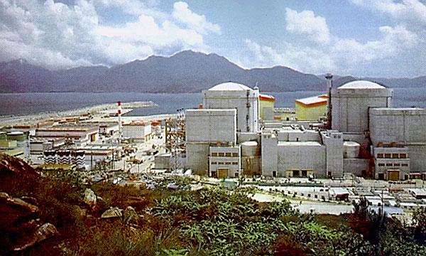 Fig. 4: Centrale nucléaire de la Baie de Daya en Chine – Source: Wikimedia Commons