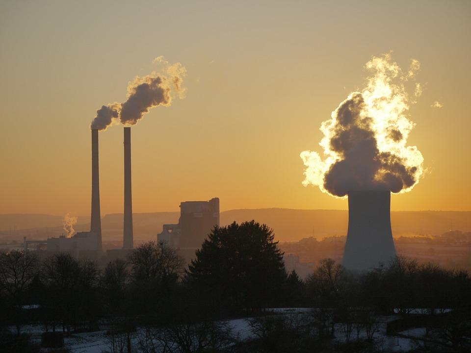 Fig. 6 : Pollution atmosphérique en Chine.